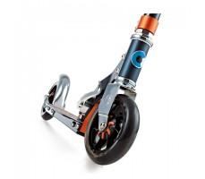 фото переднего колеса самоката Micro Speed+ Black-Orange