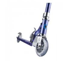 фото переднего колеса самоката Micro Sprite Blue Stripes