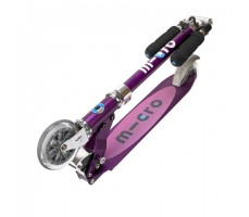 фото складного самоката Micro Sprite SE Purple Stripes
