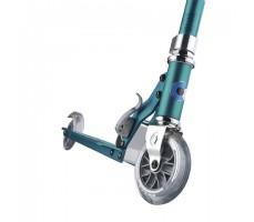 фото переднего колеса самоката Micro Sprite Turquoise Stripes