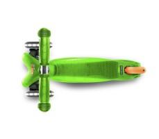 фото вид сверху Детский самокат MINI MICRO Classic LED Green