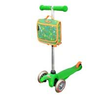 Детский самокат MINI MICRO Classic с сумочкой Green