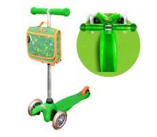 фото Детский самокат MINI MICRO Classic с сумочкой Green