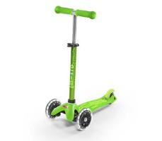Детский самокат MINI MICRO DELUXE LED Green