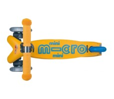 фото вид сверху Детский самокат MINI MICRO DELUXE Apricot