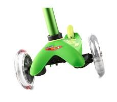 фото передние колеса Детский самокат MINI MICRO DELUXE Green