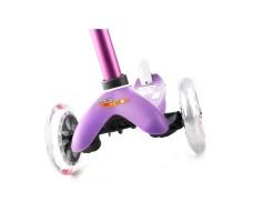 фото передние колеса Детский самокат MINI MICRO DELUXE Purple