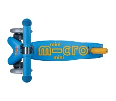фото вид сверху Детский самокат MINI MICRO DELUXE Sea Blue