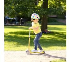 фото в движении Детский самокат MINI MICRO DELUXE Yellow