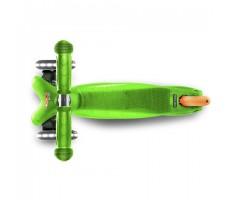 фото детского самоката MINI MICRO LED Green вид сверху