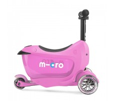 боковое фото детского самоката MINI MICRO MINI2GO DELUXE Pink