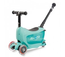 Детский самокат MINI MICRO MINI2GO DELUXE Plus Mint