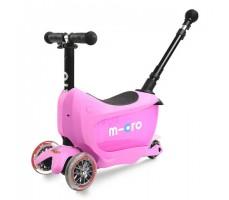 Детский самокат MINI MICRO MINI2GO DELUXE Plus Pink
