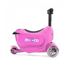 боковое фото Детского самоката MINI MICRO MINI2GO DELUXE Plus Pink