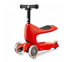фото детского самоката MINI MICRO MINI2GO DELUXE Red с сиденьем