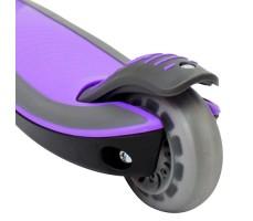 фото самоката Globber Elite F / FL Purple вид на заднее колесо