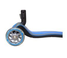 фото переднего колеса и доски самоката Globber Elite S / SL Light Blue