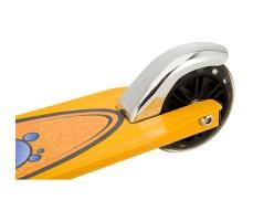 фото заднего колеса Детский трюковой самокат Razor Grom Black-yellow
