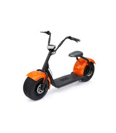 Электросамокат ELECTROSTREET CITYCOCO HARLEY оранжевый | Купить, цена, отзывы
