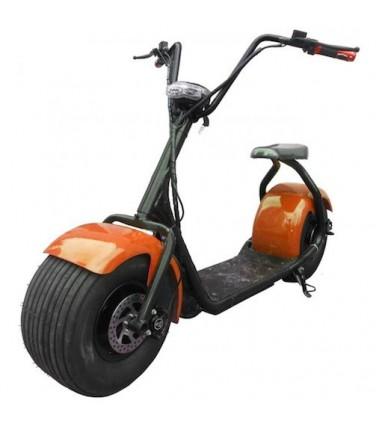Электробайк-чоппер SEEV CityCoco Оранжевый | Купить, цена, отзывы
