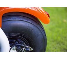 Электробайк SEEV CityCoco Orange вид на заднее колесо