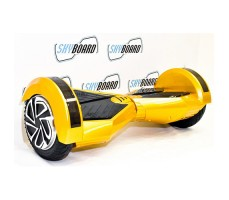 "фото гироскутера SkyBoard Blade Ultra 8"" Yellow сбоку"