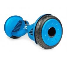 Гироскутер Smart Balance 10.5 синего цвета ввид сверху сбоку