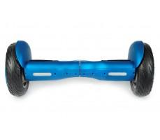 Гироскутер Smart Balance 10.5 синего цвета вид спереди