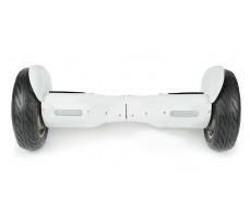Гироскутер  Smart Balance 10.5 дюймов белого цвета вид спереди