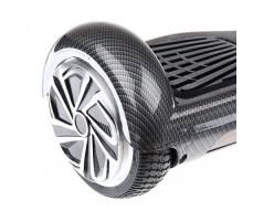Гироскутер Smart Balance Черный Карбон вид сбоку на колесо
