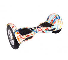 Фото гироскутера Гироскутер Smart Balance Wheel Suv 10 Graffity White вид спереди справа