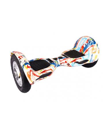 Гироскутер Smart Balance Wheel Suv 10 Граффити белый | Купить, цена, отзывы