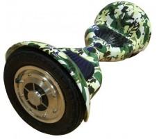 Фото гироскутера Гироскутер Smart Balance Wheel Suv 10 Khaki  вид спереди сбоку видно колесо