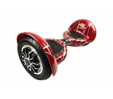 Фото гироскутера Гироскутер Smart Balance Wheel Suv 10 Spider Man  вид спереди сбоку