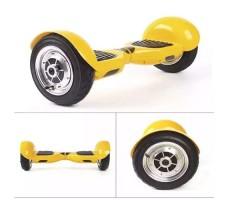 Фото гироскутера Гироскутер Smart Balance Wheel Suv 10 Yellow вид спереди спереди сбоку с сбоку