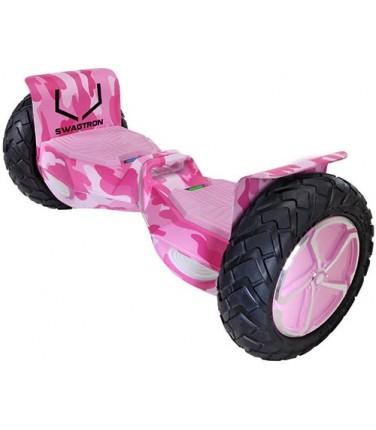 Гироскутер Swagtron T6 Hoverboard Off-Road Pink Khaki | Купить, цена, отзывы