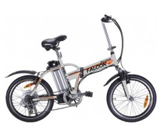 Электровелосипед Wellness Falcon White