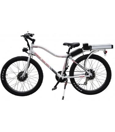 Электровелосипед Volteco Pedeggio Dual белый | Купить, цена, отзывы
