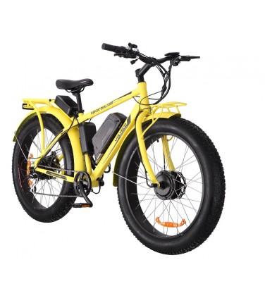 Электровелосипед Volteco Bigcat Dual Yellow | Купить, цена, отзывы