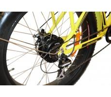 Фото колеса электровелосипеда Volteco Bigcat Dual Yellow