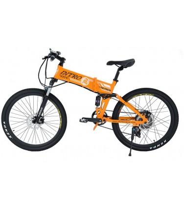 Электровелосипед Volteco Intro оранжевый | Купить, цена, отзывы