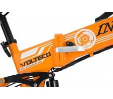 Фото рамы электровелосипеда Volteco Intro Orange