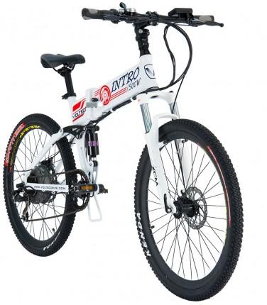 Электровелосипед Volteco Intro белый | Купить, цена, отзывы