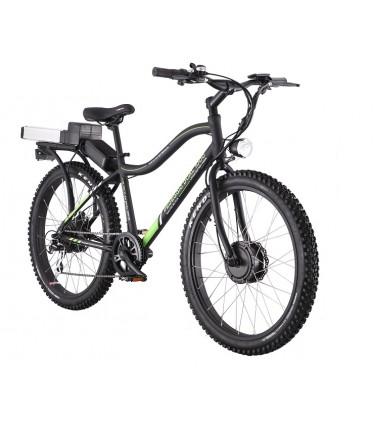 Электровелосипед Volteco Pedeggio Dual черный | Купить, цена, отзывы