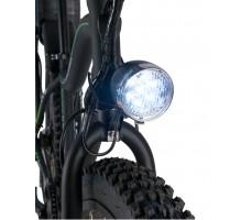 Фото переднего фонаря электровелосипеда Volteco Pedeggio Dual Black