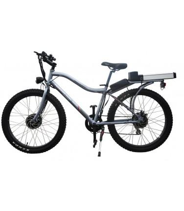 Электровелосипед Volteco Pedeggio Dual серый | Купить, цена, отзывы