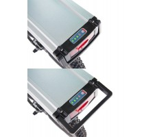 Фото аккумулятора электровелосипеда Volteco Pedeggio Dual White