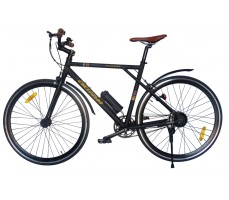 Фото электровелосипеда Cycleman Runner Black вид сбоку