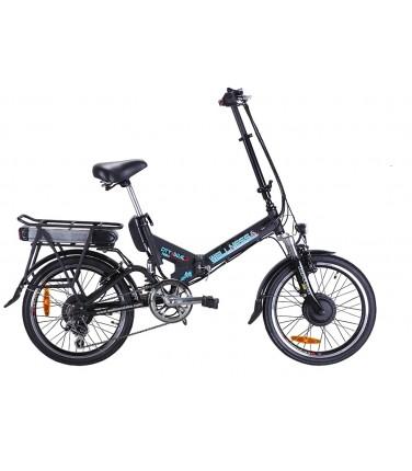 Электровелосипед Wellness City Dual черный| Купить, цена, отзывы