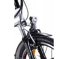 Фото переднего фонаря электровелосипеда Wellness City Dual White